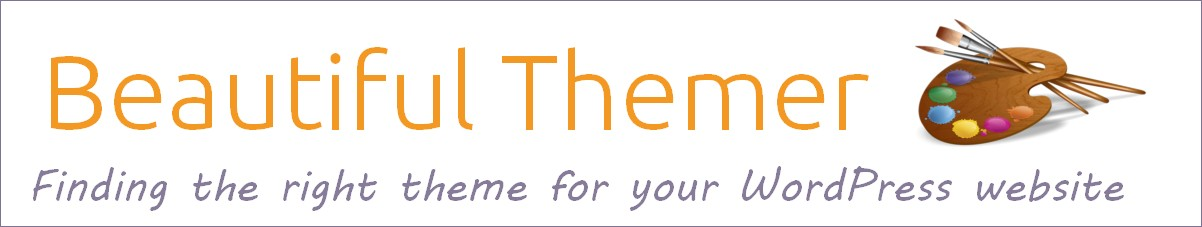 Beautiful Themer painter's palette logo: Finding the right theme for your WordPress website